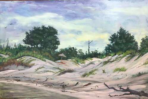 """""""Outing"""" 24x36 (Horn Island) Diego Larguia"""