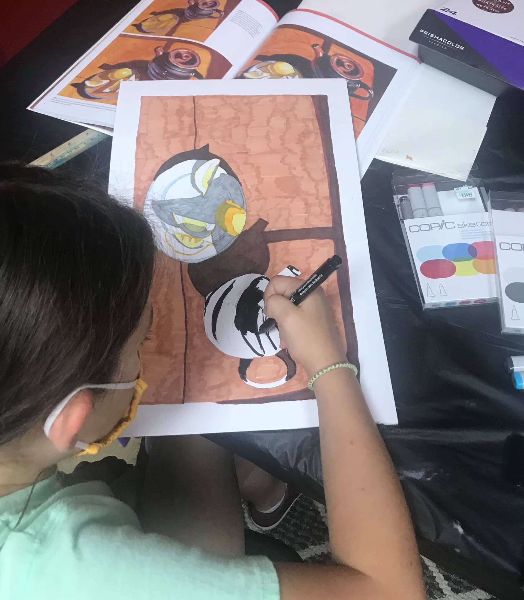 Copic Marker Class Ages 10-17 July 18