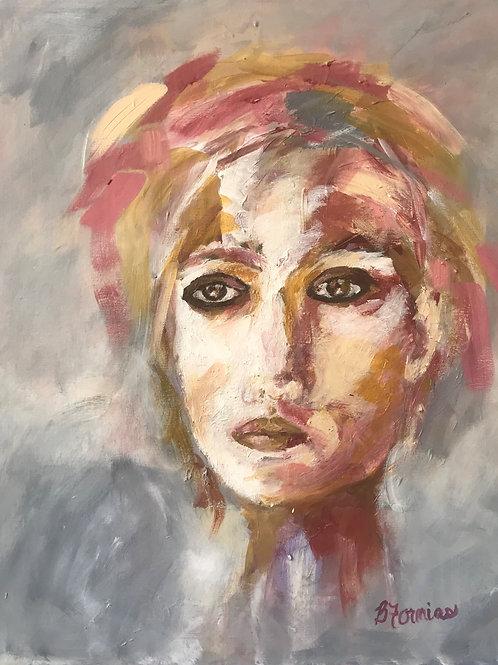 """Light From Amber Eyes"" Barbara Fornias"