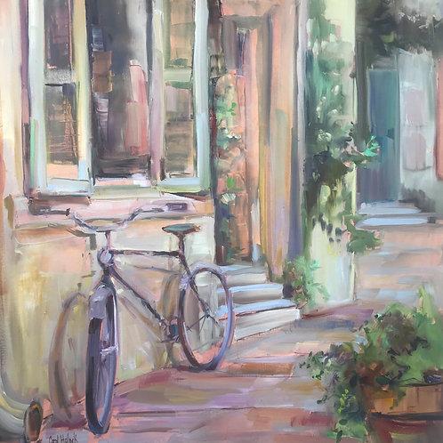 """Bicycle"" Carol Hallock"