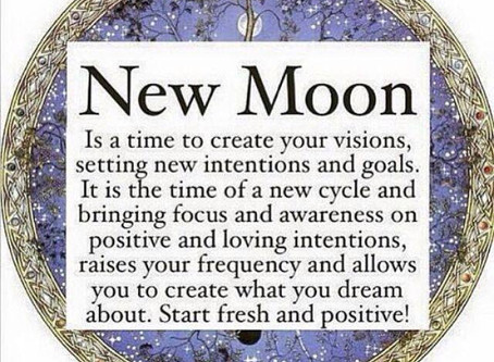 New Moon April 15, 2018