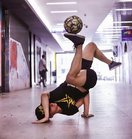 Alvaro freestyle futbol Linx