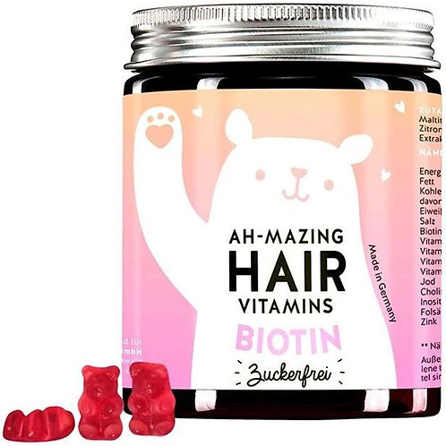 bears with benefit (Ah-mazing Hair Vitamins mit Biotin), zuckerfrei