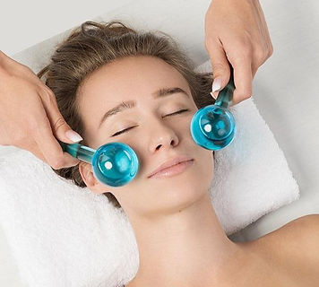 CryoGlow Facial with Dermaplaning