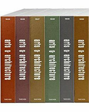 arts & architecture complete reprints taschen 1945 1954