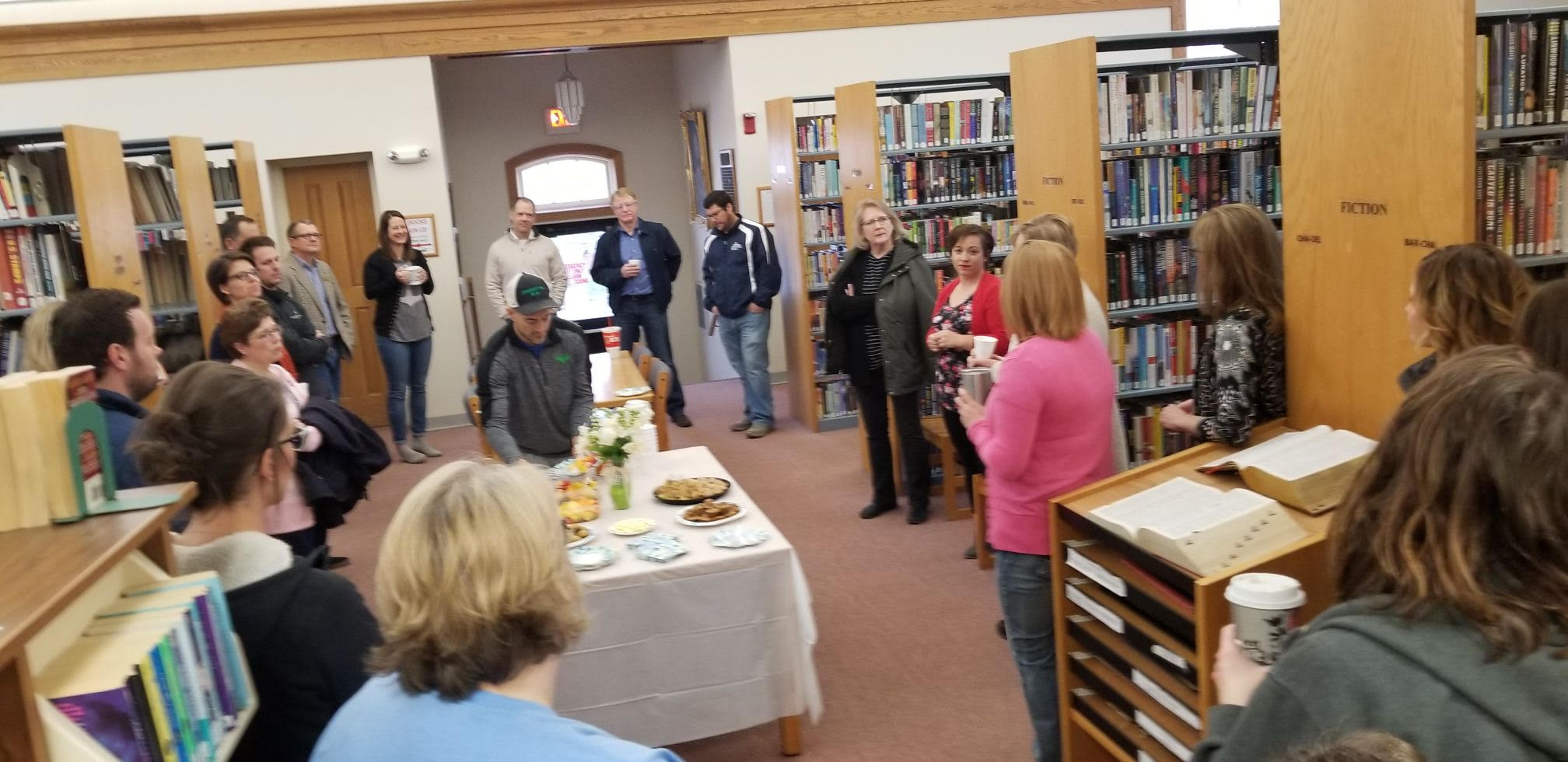 Area Business Coffee - The Library (phot