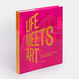life meets art_inside the homes of the world's most creative people_phaidon