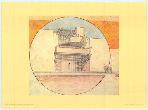 wright selected drawings