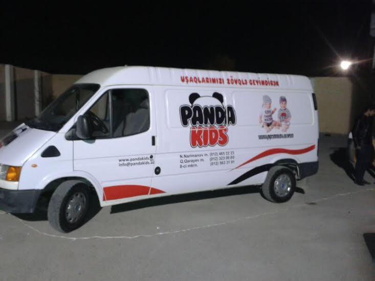 panda reklam avtomobil