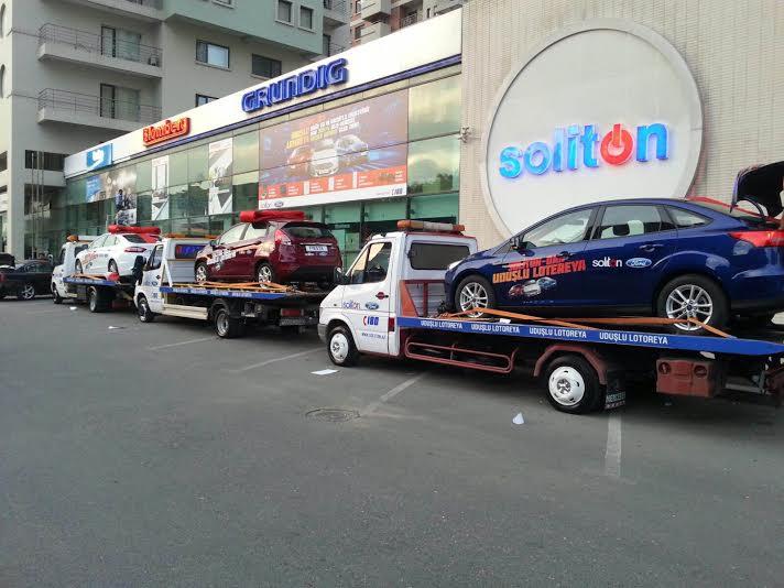 avtomobil soliton reklam