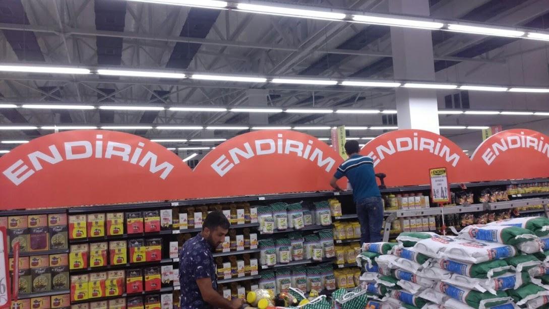 supermarketlerde reklam