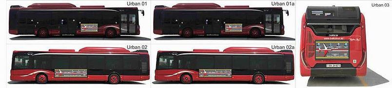 bakubus avtobuslarda reklam