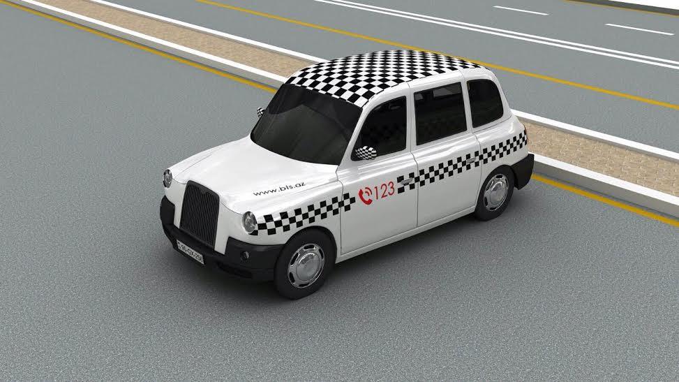 baki taksilerinde reklam