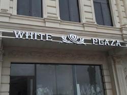 white plaza