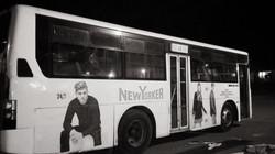 avtobuslarda reklam