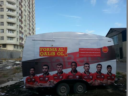 futbol klubu reklam