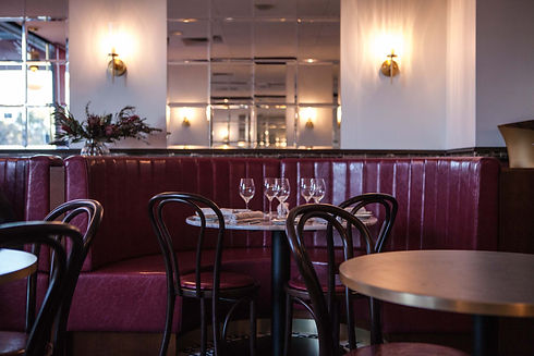 Brasserie booth -  photo by Filip Koniko