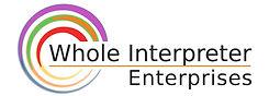 wholeInterpreter logo with new colors no
