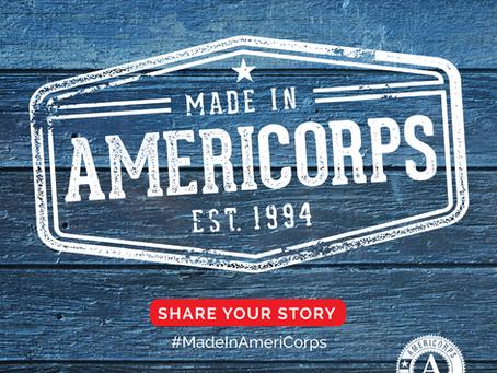 #MadeInAmeriCorps