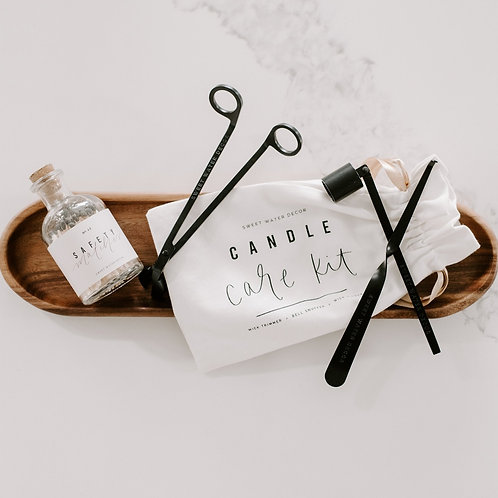 Black Candle Care Kit