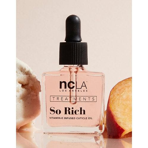 So Rich Peach Vanilla Cuticle Oil