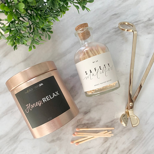 Honey, Relax Candle
