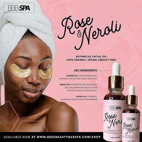 Rose & Neroli Botanical Facial Oil