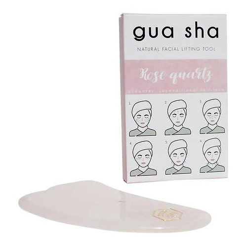 Honey Belle- Gua Sha (Rose Quartz)