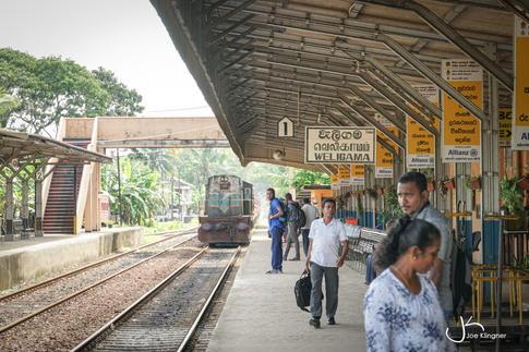 Weligama Trainstation