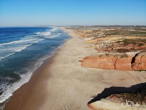 Portuguese Coastline near Peniche