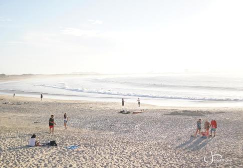 Peniche Beach Scene