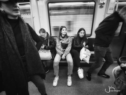 Barcelona Metro Scene