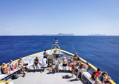 Boatride to Ko Phi Phi