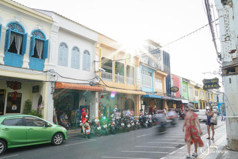 Thalang Road Scene