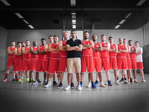 BG BABY SQUAD 2018 RED SHORTS 3.1 - The