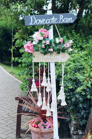 Macrame Wedding sign