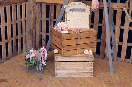 Shabby Chic Wedding Post Box