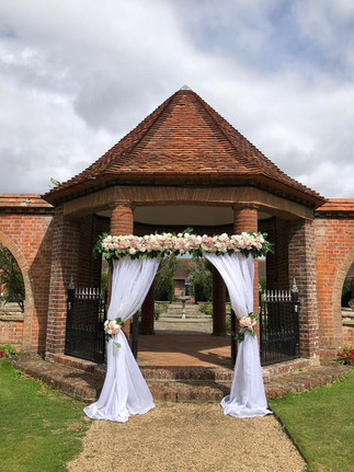 Rustic Floral Arch