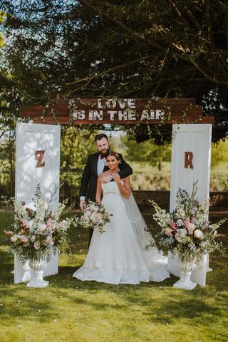 Door Wedding Arch