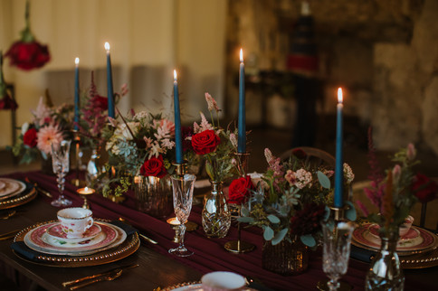 Beauty and the Beast table