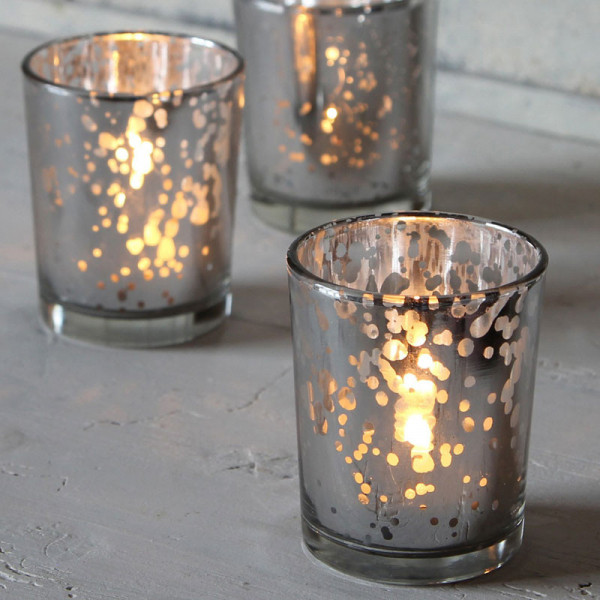 Speckled Tealight Holder