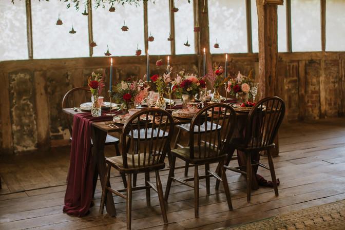 Beautyand the Beast wedding table