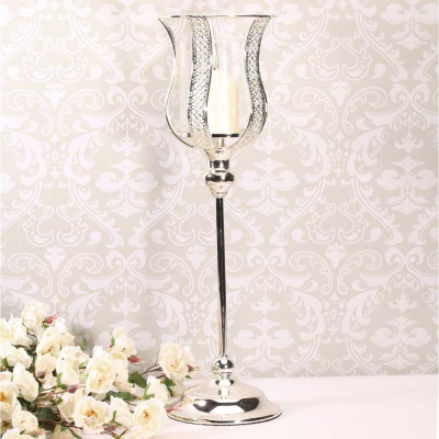 Silver Candle Holder