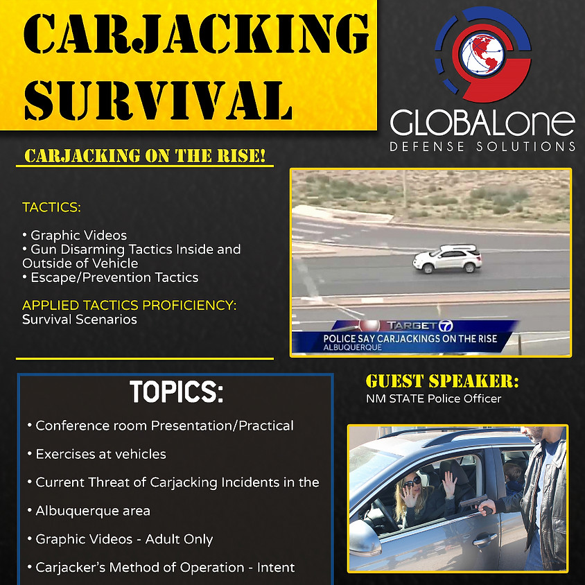 Carjacking Survival Certification Course