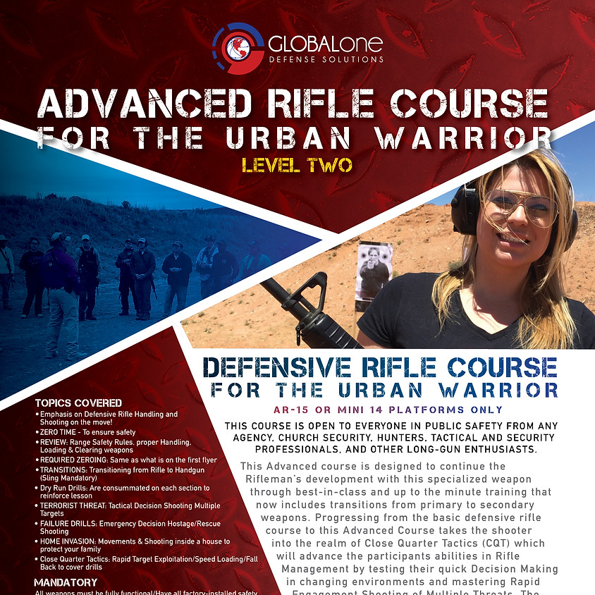 Advanced AR-15 Course