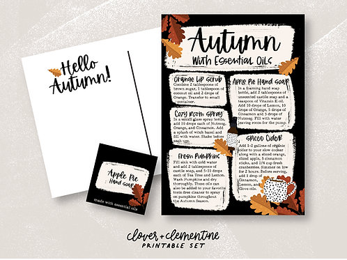Autumn with Essential Oils | Fall Blends