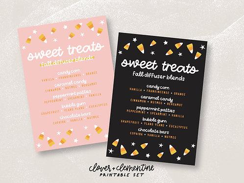 Sweet Treats | Fall Printable Set