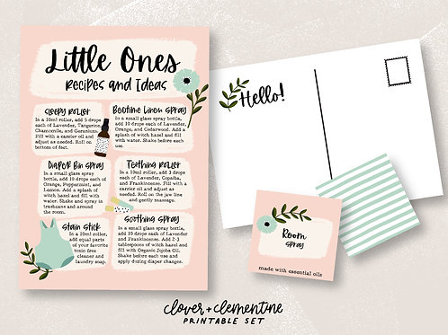 Oils for Little Ones | Download + Print