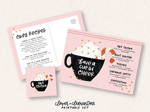Cup of Cheer | Printable Set