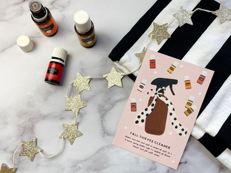 Freebie Friday: Fall Cleaner Recipe Card and Graphics
